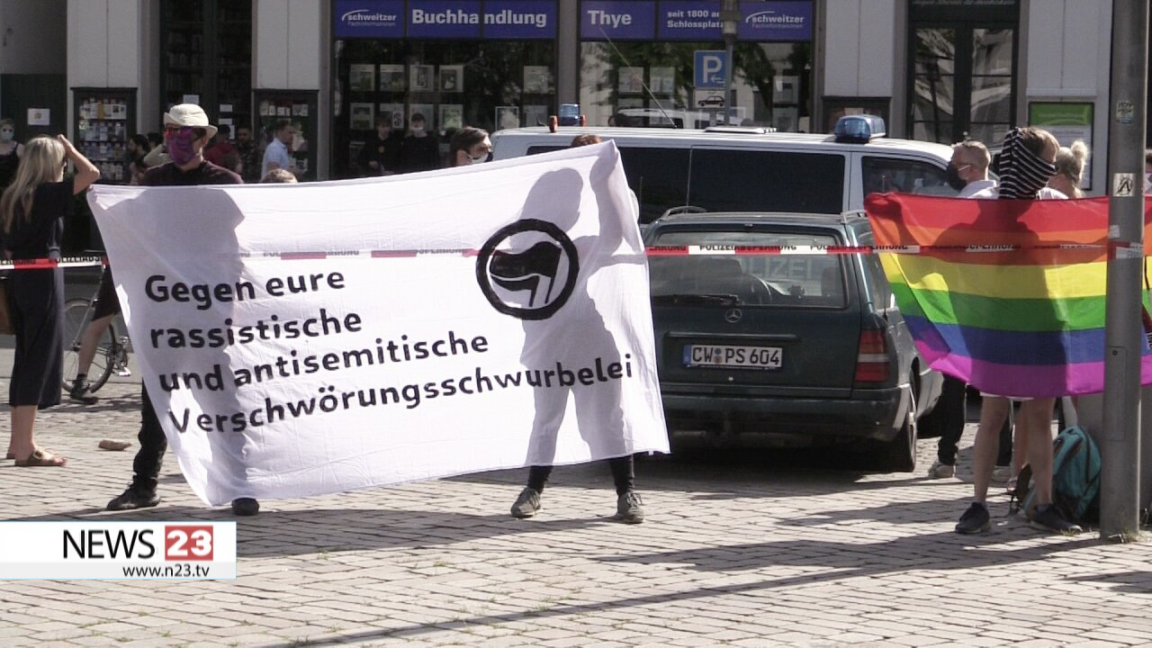 Gastbeitrag über Provokateure bei Demonstration in Oldenburg (09.05.2020)